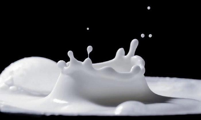 Dökülen süt
