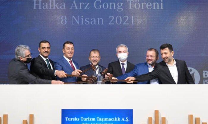 """Tureks Turizm'in arzına """"772 bin 538 yatırımcıdan talep geldi'"""