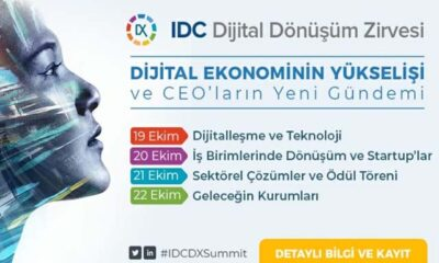 IDC Dijital Dönüşüm Zirvesi başladı!